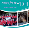"<strong>Quarterly eight-page Foundation Trust newsletter for members</strong><br>""A very personal service. Thank you for being organised, efficient, creative and helpful."" Debbie Pugh-Jones, Head of Communications & Marketing, YDH"