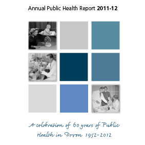 "<strong>Devon Public Health Report 2011/12</strong><br>Design and sub edit Annual Public Health Report along a silver jubilee theme. ""The Annual Reports are wonderful! I have had so many compliments about them from staff - and we haven&#039;t even sent them out yet!"" Virginia Pearson, Joint Executive Director of Public Health"